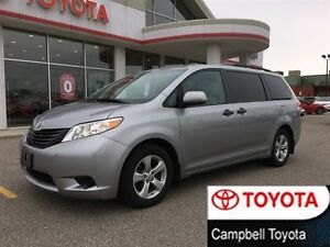 2012 Toyota Sienna CE GREAT SHAPE! V6--LOW KM'S--LOCAL TRADE