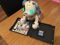 Wappy dog game and robot dog -Nintendo DS