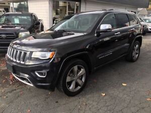 2014 Jeep Grand Cherokee Overland Coquitlam Location - 604-298-6