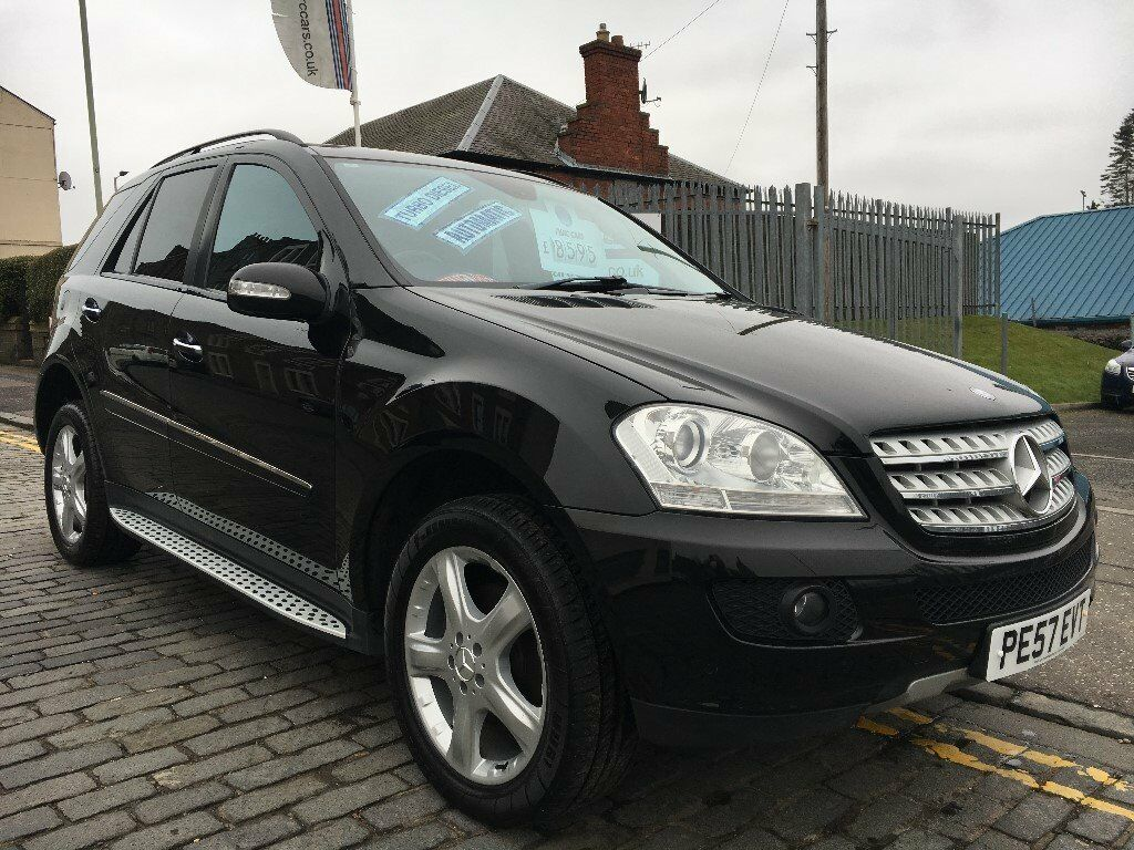 mercedes benz ml 280 cdi 10 edition auto 188hp 57 plate 2007 reliable luxury family auto. Black Bedroom Furniture Sets. Home Design Ideas