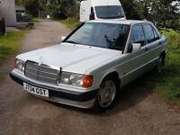Mercedes 190E 2 Litre Petrol 88,000 miles