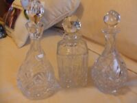 For sale decanters
