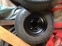 Two utility trailer tires in great condition
