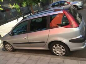Peugeot 206 sw diesel for sale runs and drives