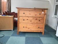 FREE Ikea Hemnes chest of drawers