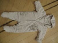 Marls and Spencer 3-6 month neutral snowsuit