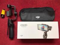 DJI Osmo Mobile Phone 3 axis gimbal + GoPro mount