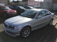 2000 BMW 325ci SE coupe, 87000 miles.