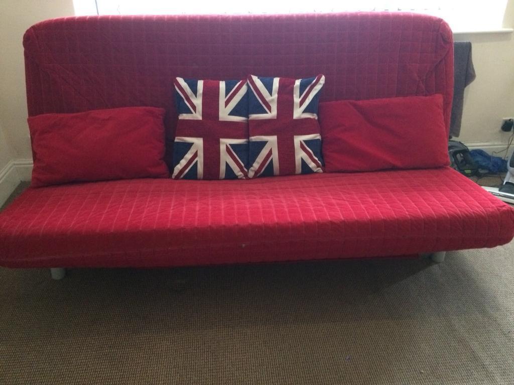 IKEA sofa bed.
