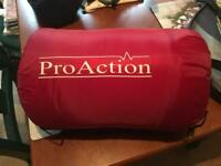 Proaction 400GSM Single Envelope Sleeping Bag Red