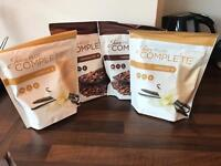 4 unopened pouches of juice plus end date 4/17