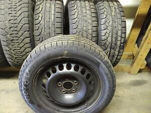 MERCEDES BENZ B200 WINTER TIRES AND OEM RIMS 205/55R/16 - PIRELLI SOTTOZERO B 200 *** FULL SET ** STOCK# T17