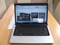 DELL STUDIO WINDOWS 7 LAPTOP WITH MICROSOFT OFFICE INSTALLED BARGAIN £65
