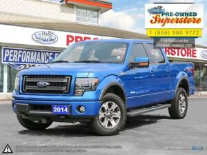 2014 Ford F-150 ***FX4 Luxury package w/leather***