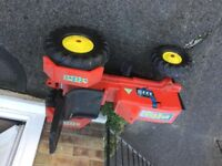 Children's Large sit on digger lorry/ tractor