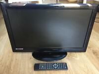 LCD TV - 22 inch with built in DVD & Freeview