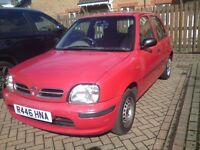 NISSAN MICRA 1 LITRE AUTOMATIC 5 DOOR AUTO (DRIVES BRILLIANT) NUMBER PLATE WORTH £1500 INCLUDED