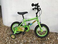 "Marvin the Monkey Kids Bike 12"""