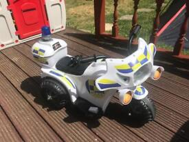 Kids motorbike battery rechargeable