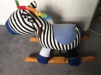 Mamas and Papas Rocking Horse/Zebra