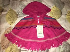 Monsoon kids poncho