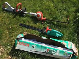 Two hedge trimmers for sale