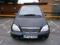 Mercedes benz, A140 ,air-con,stereo,electric windows.