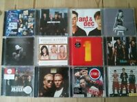 Audio CD Albums Various Artists (Grande, Beatles, Derulo, Trainor, Blue, Houston, Hayes, Busted)