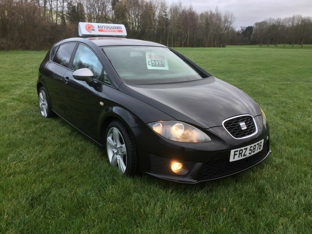 2010 seat leon fr 170 bhp facelift model full seat service history high spec in cregagh. Black Bedroom Furniture Sets. Home Design Ideas