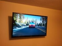 Wall mount your LCD, LED or Plasma TV. From $100 installed.