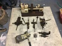 Pultra Lathe and accessories