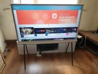 BRAND NEW Boxed SAMSUNG QE55LS01 55 inch QLED 4K HDR, Smart TV Wi-Fi, FREEVIEW & FREESAT HD - WHITE