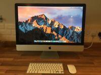 Apple I Mac 27inch Late 2009 - 1TB - 16G RAM - 2.66Ghz i5