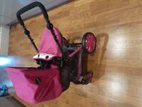 Icoo 3in1 dolls stroller