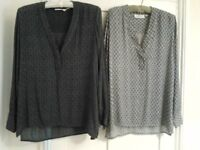 blouses x 2 - womens