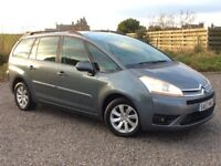 CITROEN GRAND PICASSO 7 SEATER DIESEL ESTATE MPV LOW MILES LONG MOT GOOD SERVICE HISTORY PX WELCOME