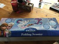 Frozen scooter brand new