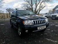 2005 Jeep Grand Cherokee 2.7 Crd Platinum Edition / Rare Model / Fully Loaded / May Part Exchange