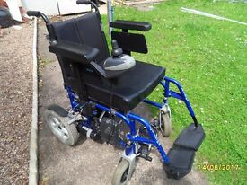 battery wheel chair. (BEREAVEMENT FORCES SALE )