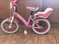 Girls hello kitty bike used- in good condition £15