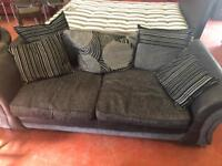 Large two seater plus love chair