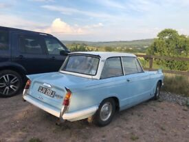 A lovely solid Triumph Herald 13/60 Saloon. Great fun to drive, looking for loving new home.