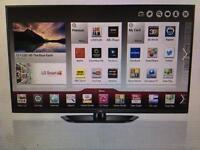 LG 50 inch wifi smart perfect condition