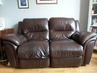 Electric recliner two-seater sofa