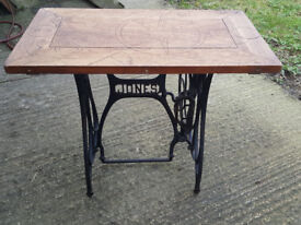 Jones Cast Iron Sewing Table