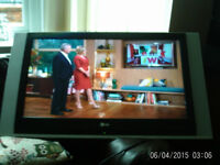 37IN flat screen LG T.V.with wall bracket.£45