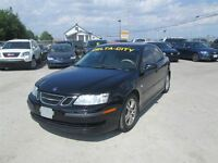 2007 Saab 9-3 AUTO* CERT & 3 YEARS WARRANTY INCLUDED