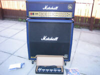 MARSHALL JVM410HJS Joe Satriani Signature Head & Cab