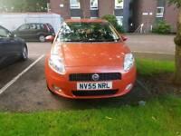 Fiat punto grande active sport 1.4 petrol orange
