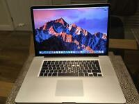 "Apple MacBook Pro 17"" 2.2ghz i7, 8GB ram, 128gb SSD, Radeon 6750 1GB"